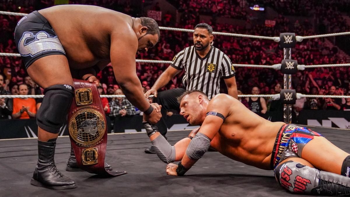 T-BAR promete que terá luta contra Keith Lee na WrestleMania