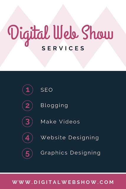 Digital Web Show Services