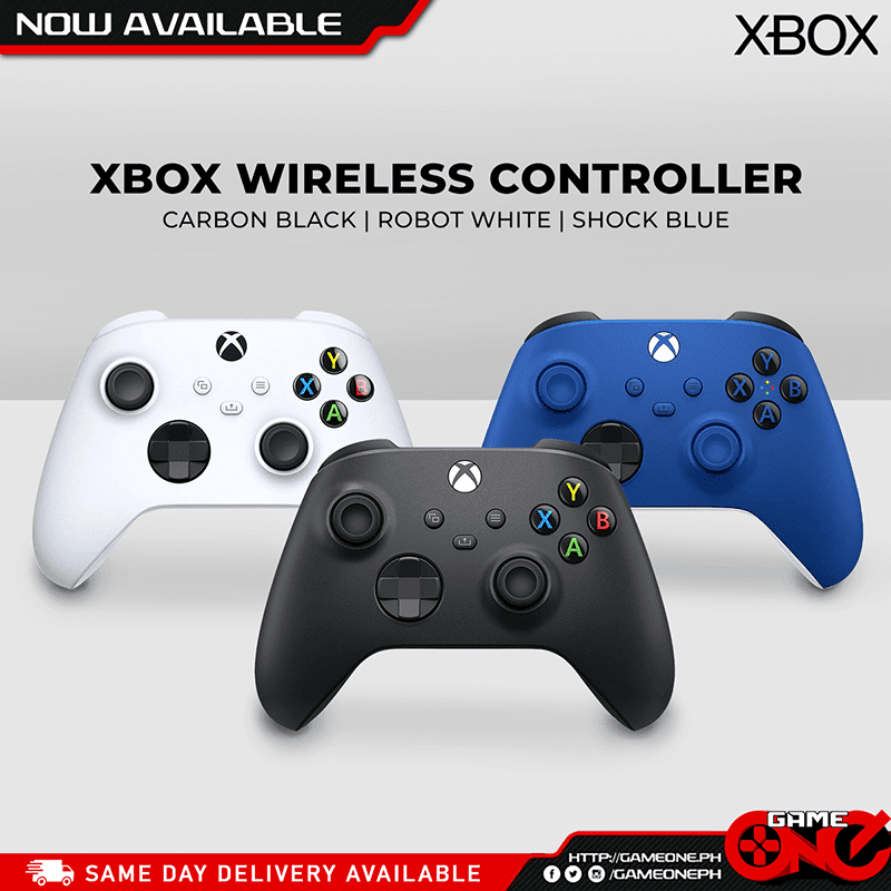 Wireless Controllers in 3 different colors
