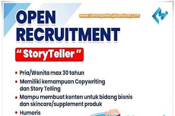 Lowongan Kerja Story Teller