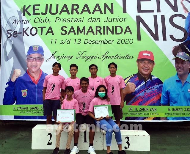 Tak Hanya Mahir Bermain Tenis, Abdul Kahar Mim Juga Piawai Cetak Atlet Tenis Berprestasi
