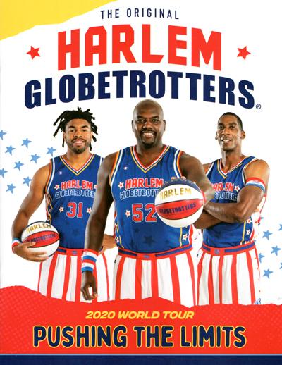 Harlem Globetrotters 2020 tour programme