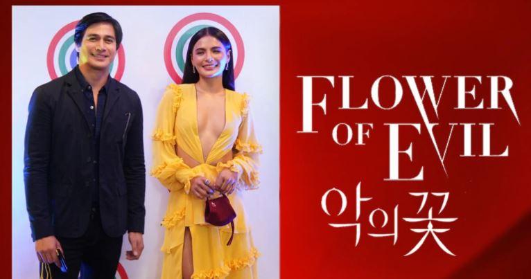 Piolo Pascual and new Kapamilya star Lovi Poe Flower of Evil