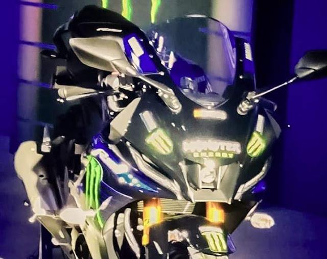 Yamaha R15 V4 headlamp
