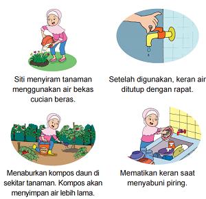 aturan di rumah Siti untuk menghemat air bersih www.jokowidodo-marufamin.com