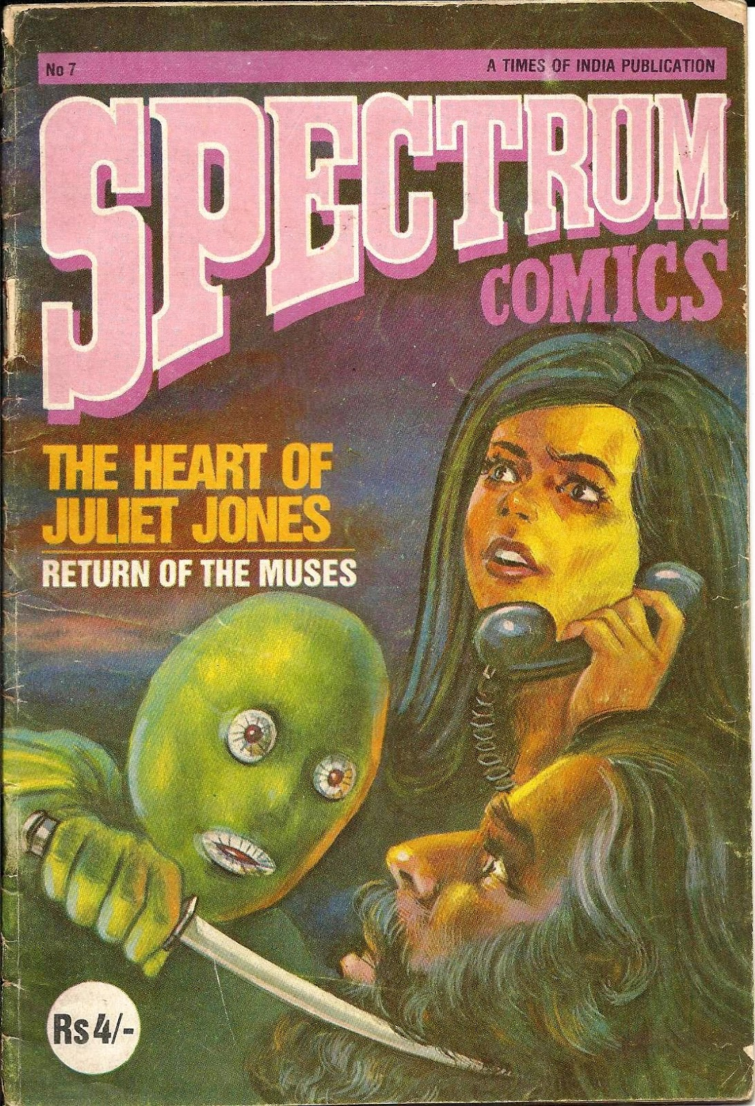 7 Muses Comics spectrum comics-the heart of juliet jones-return of the