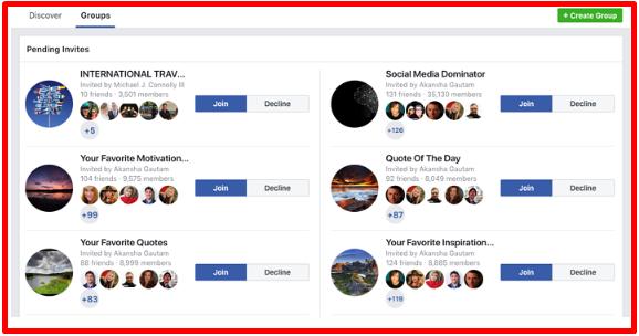 Create Secret Facebook Group