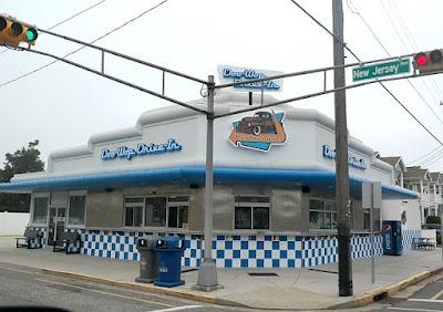 Doo Wop Drive-In Restaurant in Wildwood Crest, New Jersey
