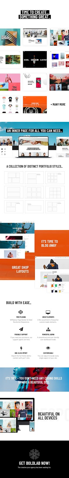 Best WordPress Creative Agency Theme Review - Boldlab