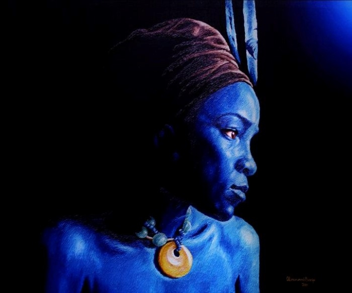 Сюрреализм и реализм. Olawunmi Banjo