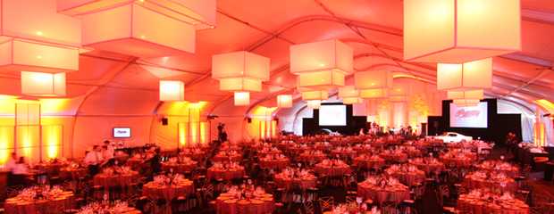 large wedding venue classy