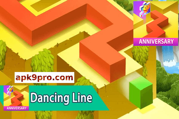 Dancing Line 2.7.1 Apk + Mod (File size 85 MB) for android