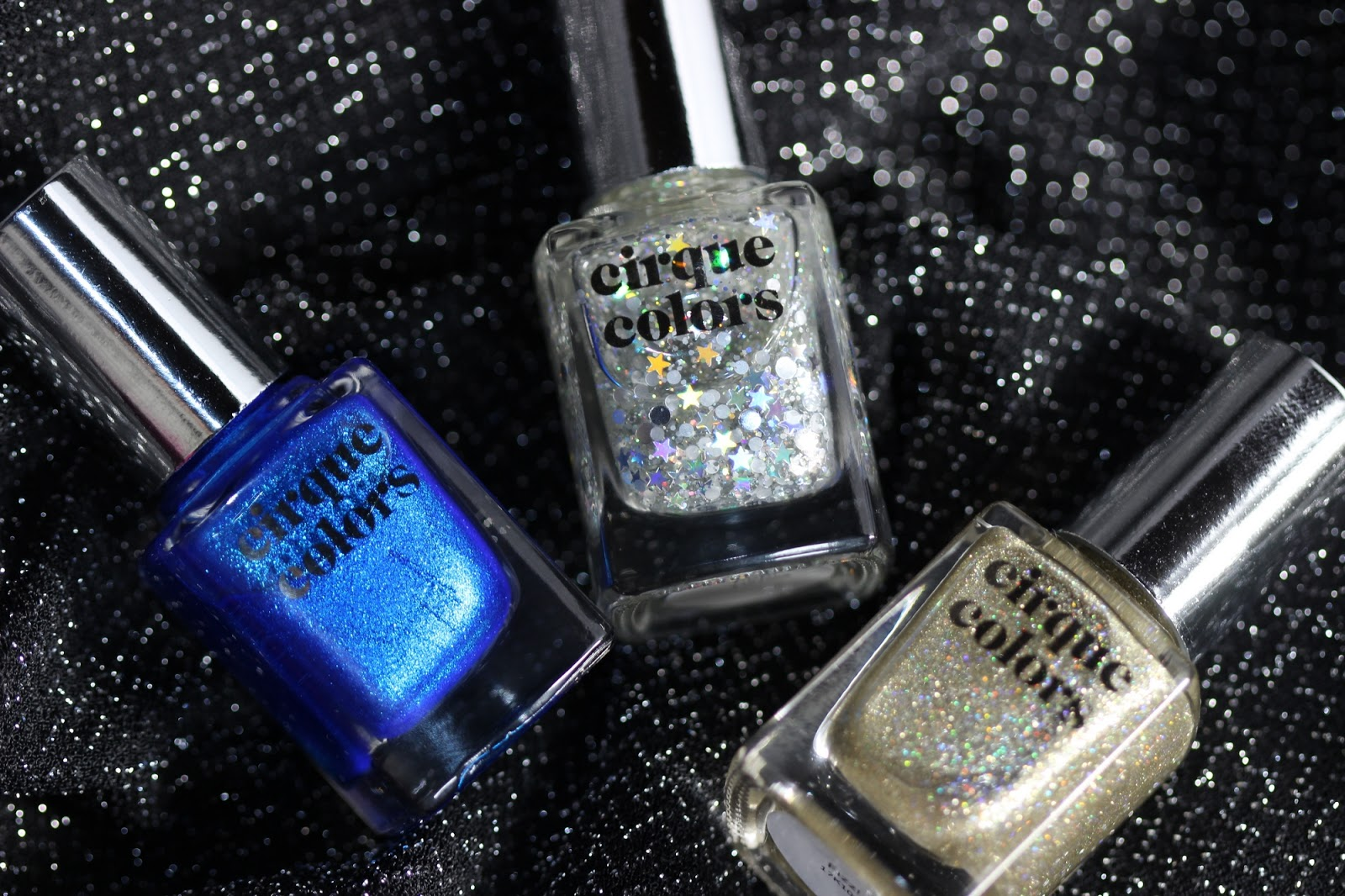 Cirque Colors | Live.Love.Polish New Years exclusive trio ...