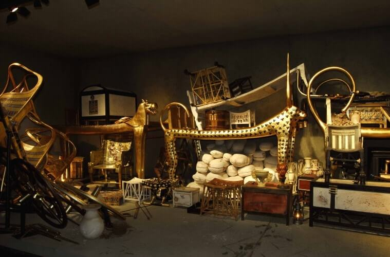 Harta Tutankhamun di Muzium