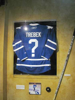 Maple Leaf Trebek Jersey.
