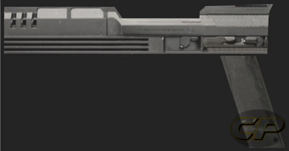 Robocop Auto 9 Gun Paper Model And The Display Box
