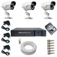 Foto kit camera segurança
