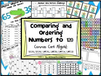 Number Sense: Comparing and Ordering Numbers to 120
