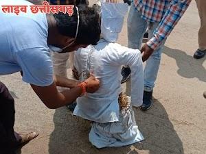 स्वास्थ्य मंत्री टी.एस. बाबा को कांग्रेस पार्टी से बाहर निकालने की बात कही chhattisgarh news