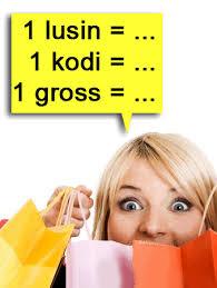 kita sering mendengar tentang satuan jumlah lusin Mengenal Satuan Jumlah Lusin, Gross, Rim dan Kodi