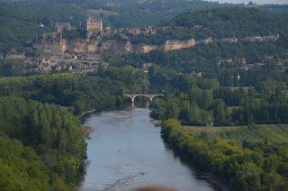 La Vall del Dordogne des del Castell de Castelnaud