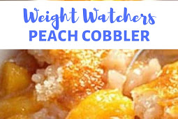 WEIGHT WATCHERS PEACH COBBLER