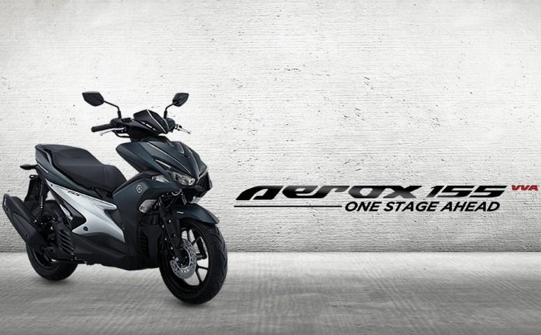 Yamaha Indonesia resmi merilis Yamaha AEROX 155 VVA, skutik bongsor dengan desain yang racy