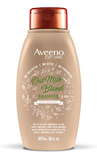 aveeno scalp soothing oat milk shampoo sulfate free paraben free