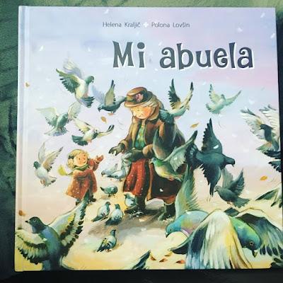 La abuela, que estas leyendo, album ilustrado, cuento infantil, libro infantil,Helena Kraljic, Polona Lovšin. Sello Editorial Picarona, moja babica, raquel mosquera, ediciones obelisco,