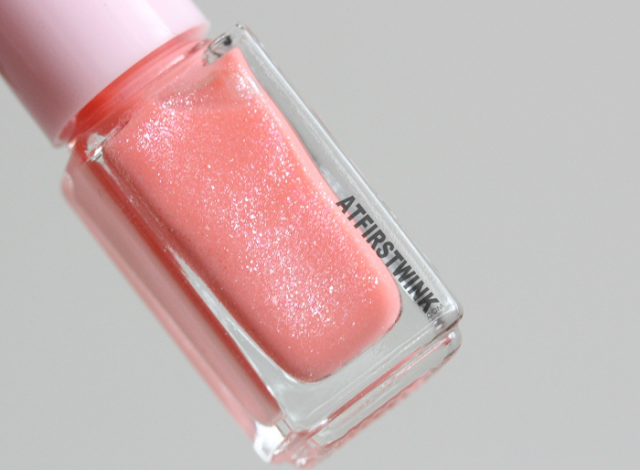 Etude House Juicy Cocktail gradation nails no. 7 - Peach Crush (nail polish 3 bright peach)