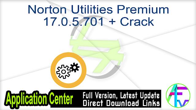 Norton Utilities Premium 17.0.5.701 + Crack
