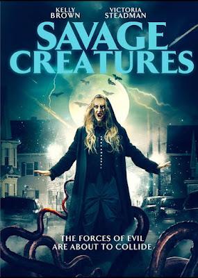 Savage Creatures 2020 DVD BD NTSC Latino