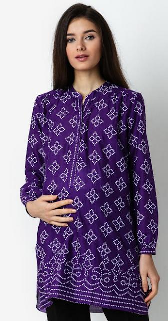 Desain Baju Hamil Muslim Modis dan Modern Terpopuler