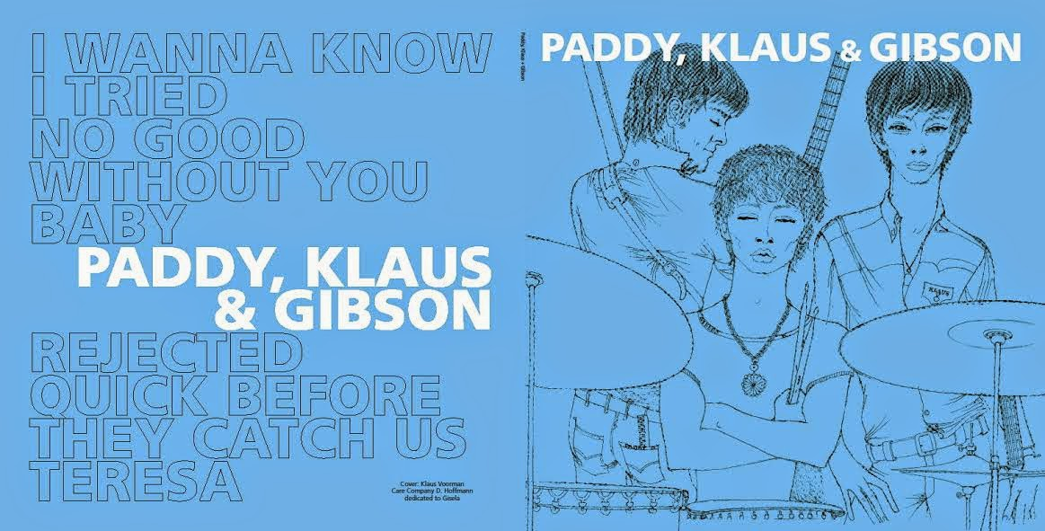 Paddy Klaus Gibson I Wanna Know