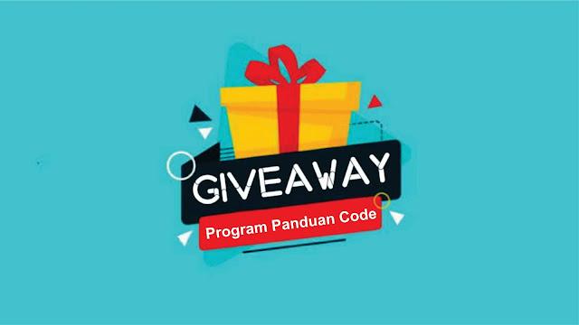 Giveaway Panduan Code