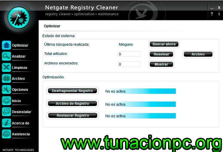 Descargar NETGATE Registry Cleaner Full ESPAÑOL con Serial Gratis