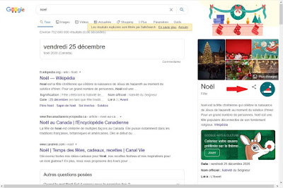 Recherche Google pour Noël
