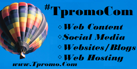 TpromoCom for web design,  hosting, and content