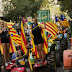 Catalans occupy voting stations to defy Madrid's order to stop referendum
