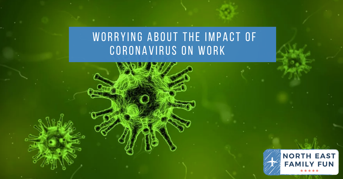 Worrying About the Impact of Coronavirus on Blogging Work