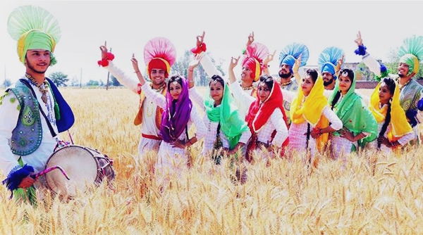 Happy Baisakhi Festival 2017 Bumper, Background, Celebration