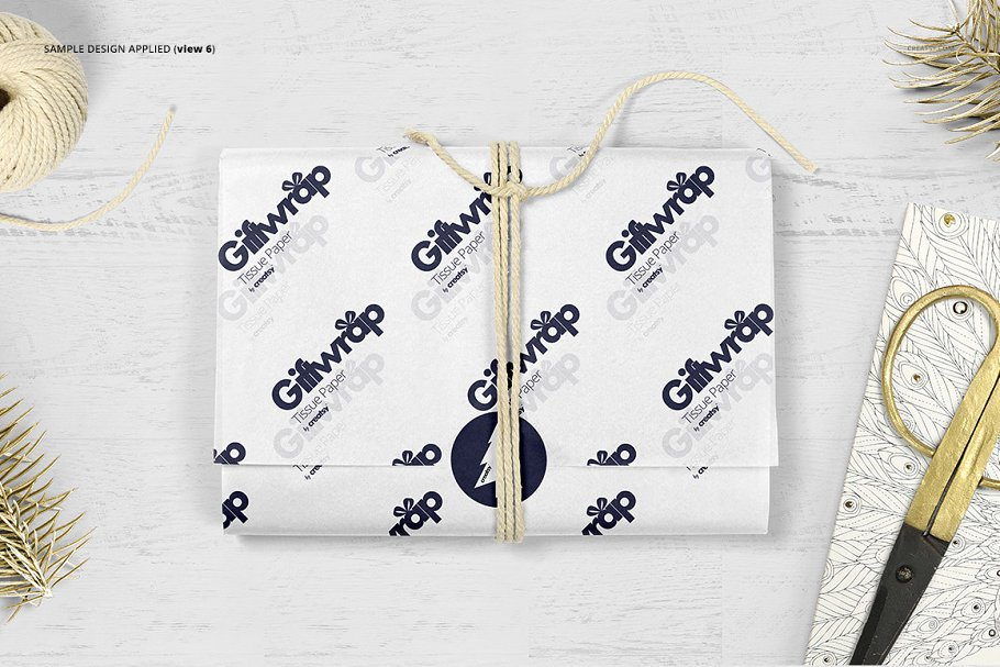 Wrapping Tissue Paper Mockup Bundle 650 Mockups