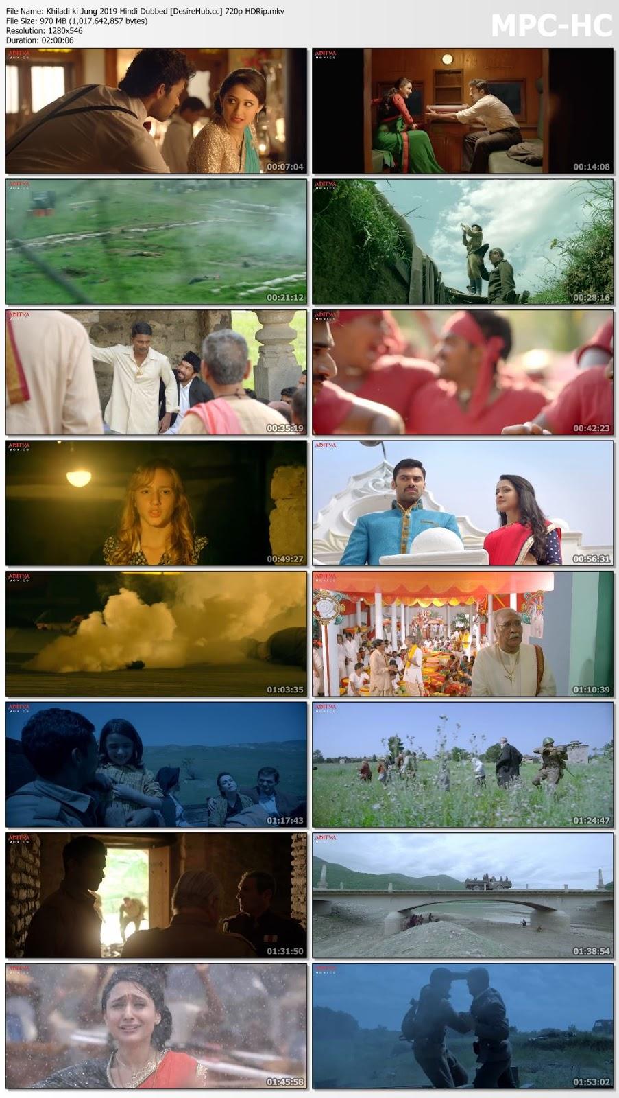 Khiladi ki Jung (Kanche) 2019 Hindi Dubbed 720p HDRip 950mb Desirehub