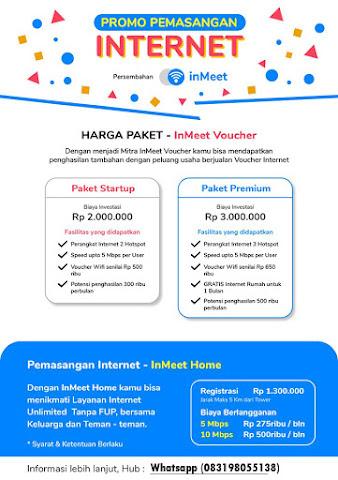 Usaha Rumahan InMeet Voucher Wifi 2020 Peluang Usaha Warnet Zaman Now Wilayah Kisaran