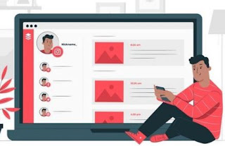 contoh bisnis online 2020 - website