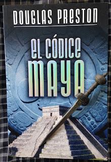 Portada del libro El códice maya, de Douglas Preston