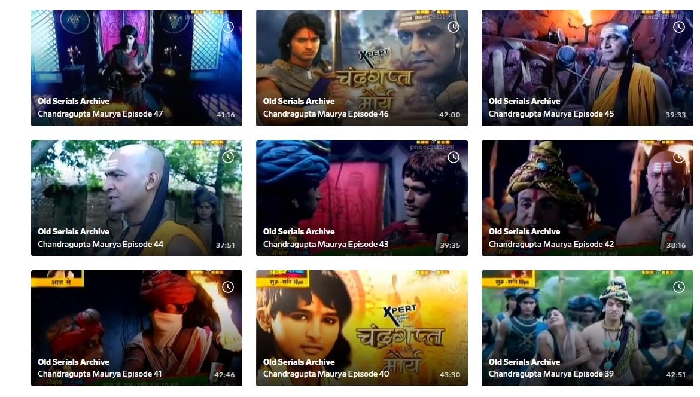 Chandragupta Maurya Serial All Episodes