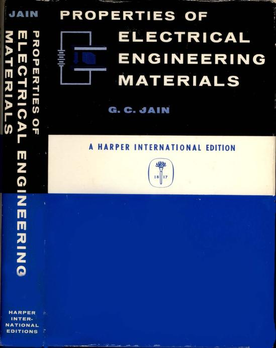 Properties of Electrical Engineering Materials PDF Book