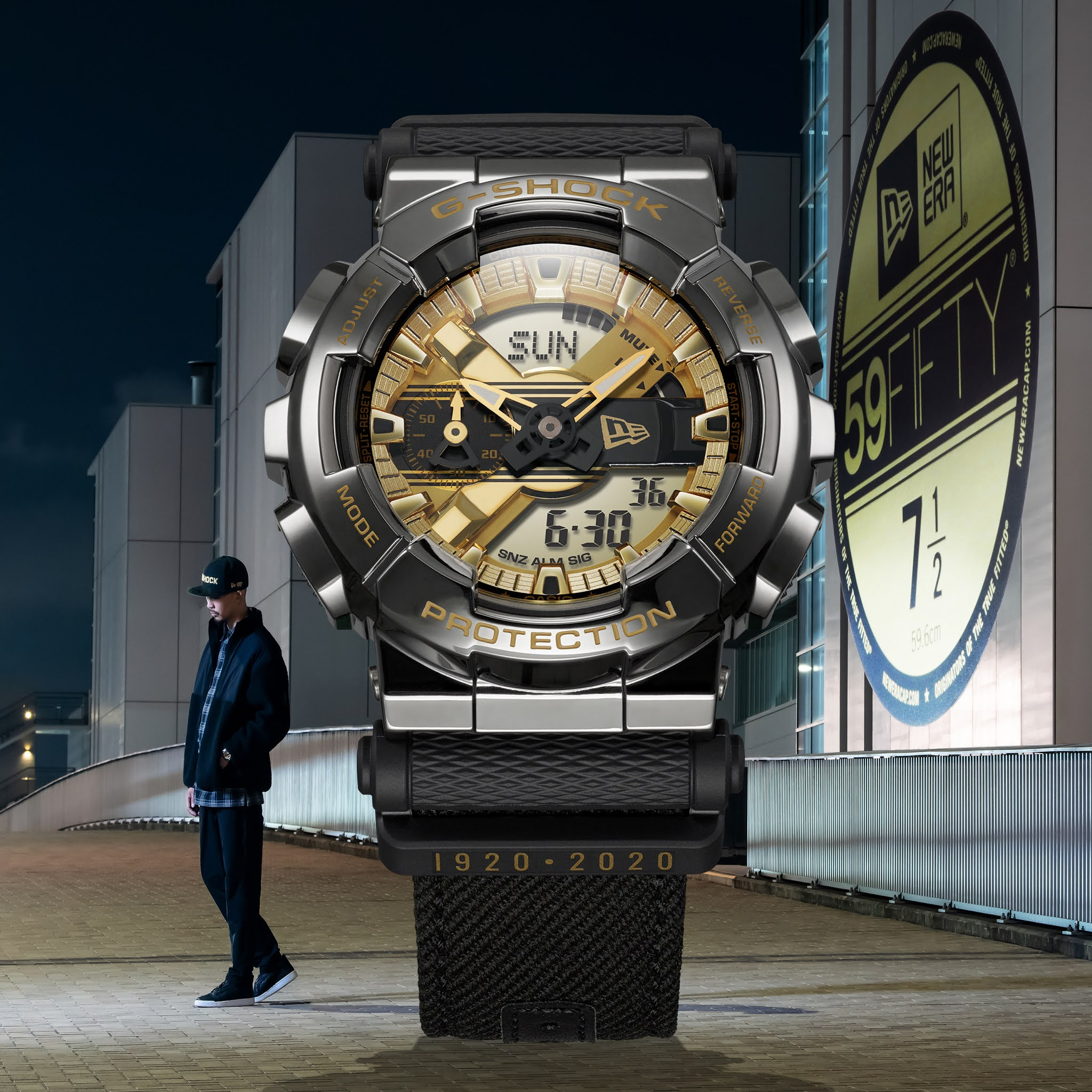 G-Shock And New Era Unveil Limited-edition Timepiece