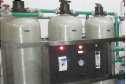 Demineralisasi 1 tahap Kapasitas 1 m3 per jam